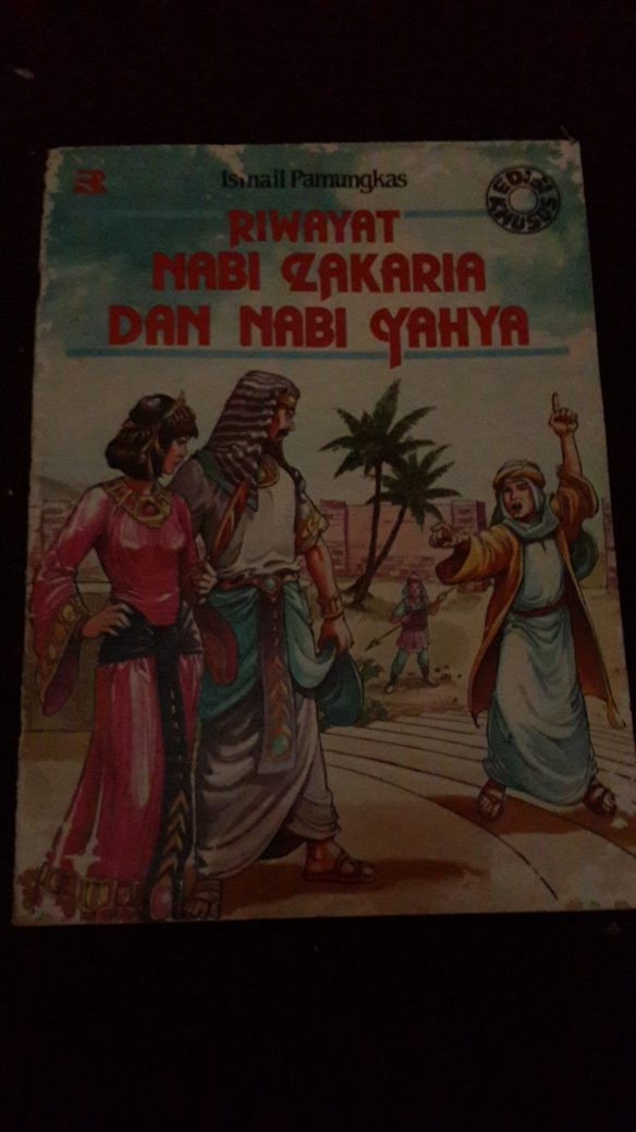 Rewrite A Book Riwayat Nabi Zakaria Dan Nabi Yahya